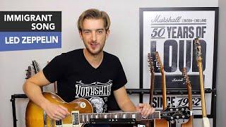 Led Zeppelin Immigrant Song Guitar Tutorial from Thor Ragnarok