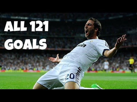 Gonzalo Higuain All 121 Goals For Real Madrid 2007-2013