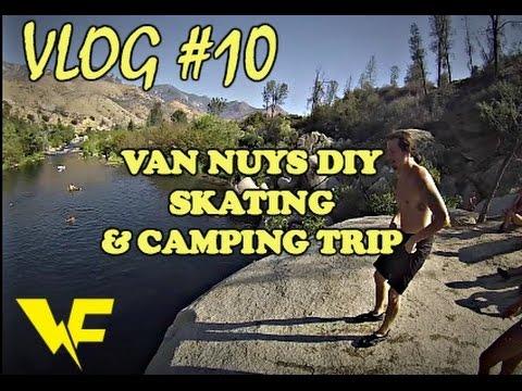 Van Nuys DIY & Camping | VLOG #10