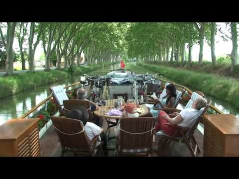 Canal du Midi Cruise on board the Anjodi and Enchanté hotel barges