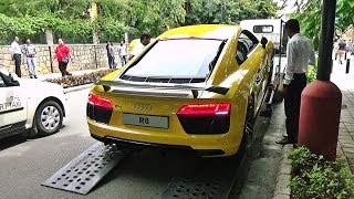 Special Delivery - New Audi R8 V10 Plus