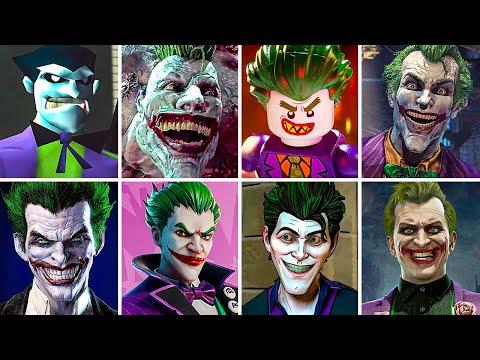 Evolution of Joker as Final Boss in Batman Games (1988-2021) Gameplay 4K 60FPS ULTRA HD |