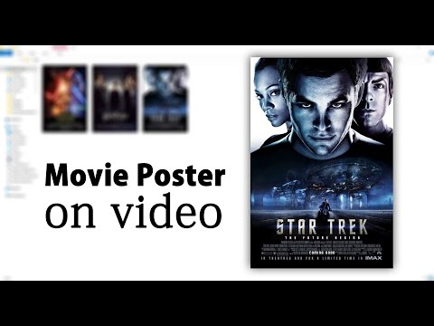 Poster Tag on Video by mp3tag