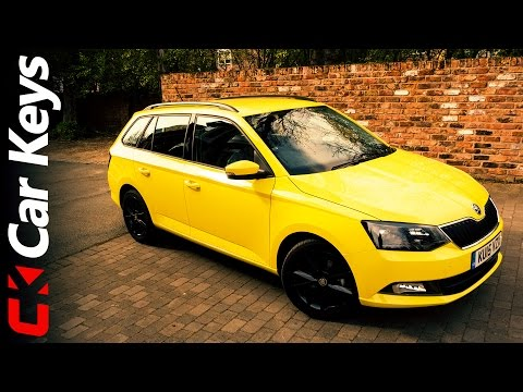 Skoda Fabia Estate 2015 review - Car Keys