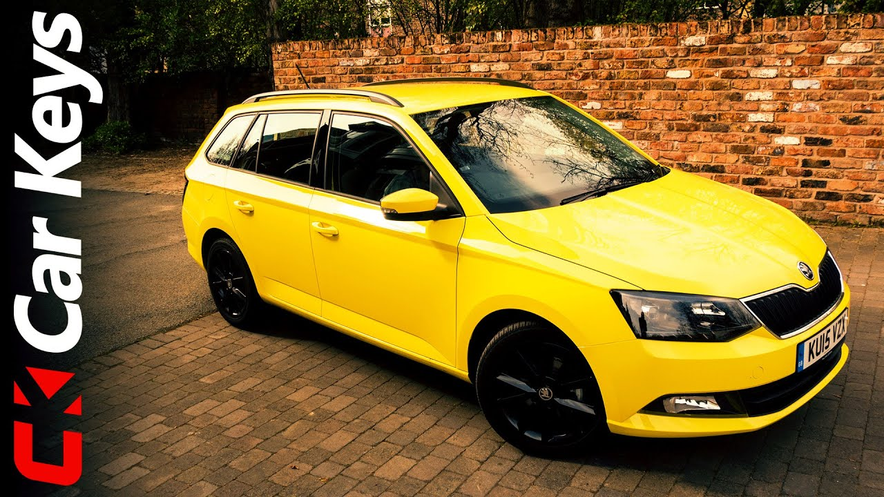 skoda fabia estate 2015 review car keys doovi. Black Bedroom Furniture Sets. Home Design Ideas