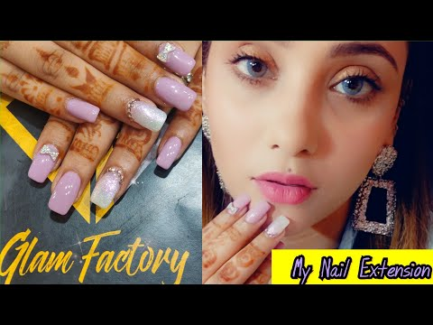 My Nails Extension Experience || Glamfactory