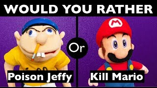 Would You Rather?   SML Quiz   SuperMarioLogan Game   #2