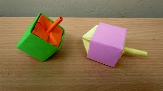 How to Make a Paper Dreidel - Easy Tutorials