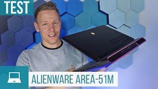 Alienware Area-51m Test: Gaming-Notebook mit Desktop-Komponenten!