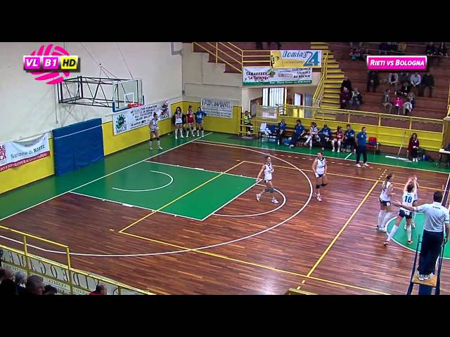 Fortitudo Rieti vs Idea Bologna - 1° Set