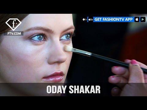 New York Fashion Week Fall/Winter 2017-18 -  Oday Shakar Make Up | FashionTV