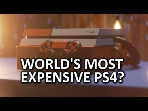 $3,000 PS4 Upgrade - Custom Water Cooling and More!