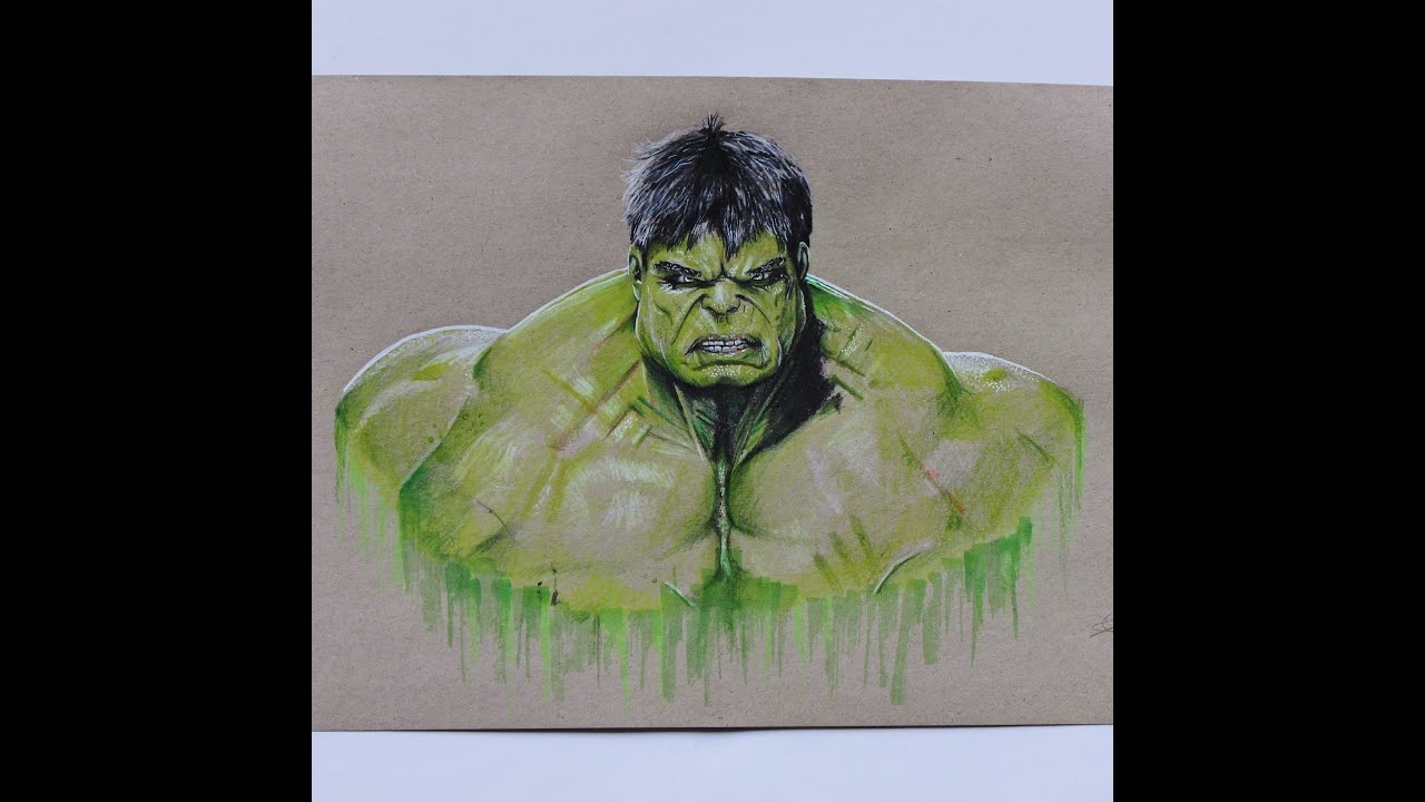 Superior Drawing The Incredible Hulk!