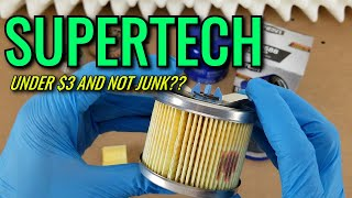 SuperTech (Walmart) Oil Filter Cut Open! | vs. Mobil-1/FRAM