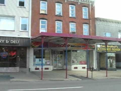 Downtown Hazleton PA