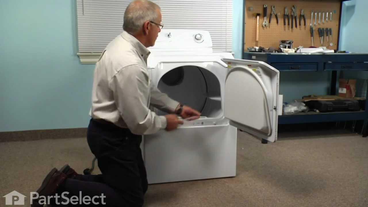 medium resolution of dryer repair replacing the thermal fuse whirlpool part 33001762 youtube