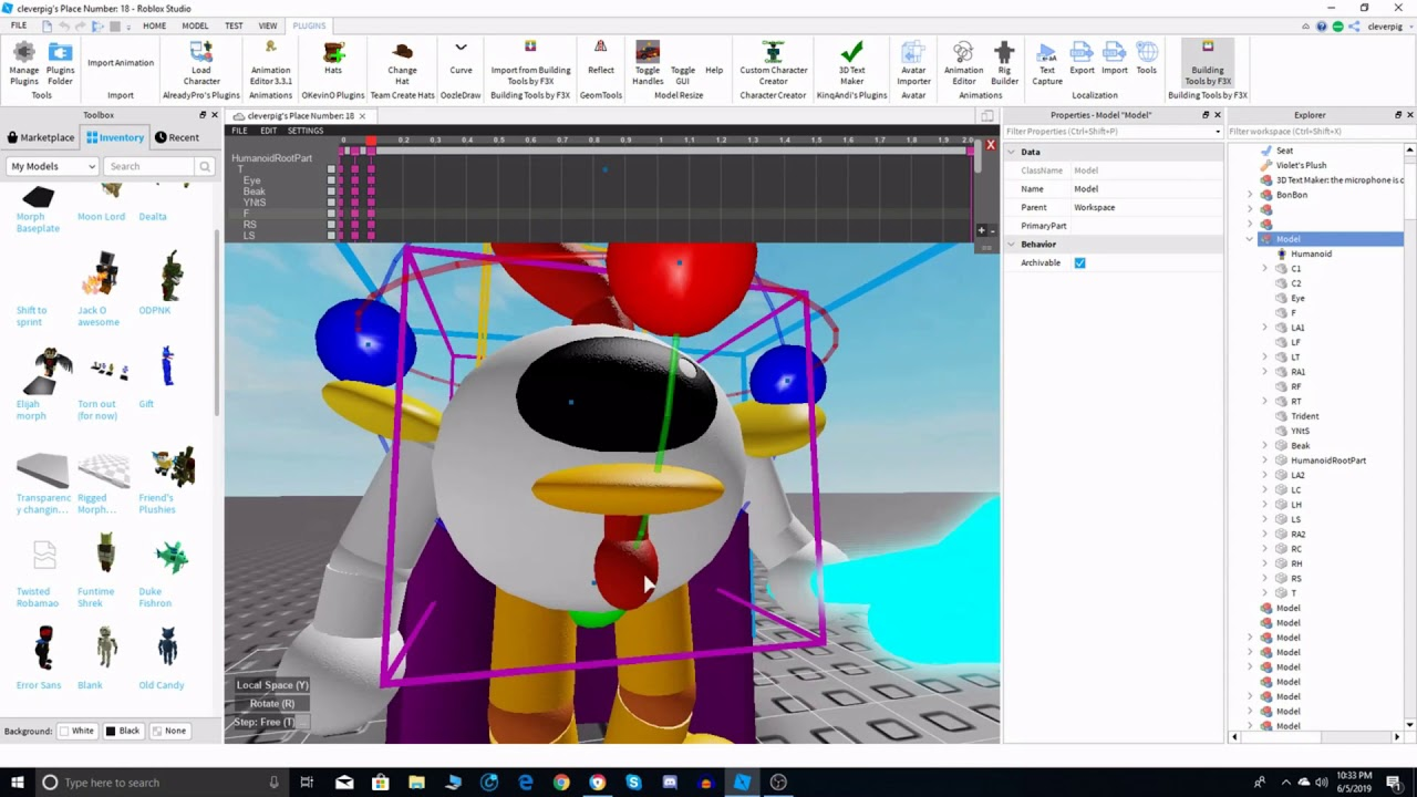 Roblox Character Animation Maker