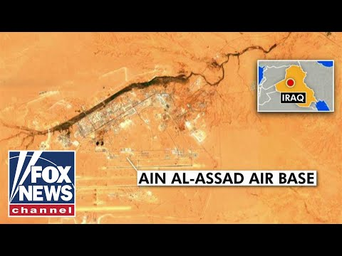 Iran Launches Missiles Into US Military Base In Iraq