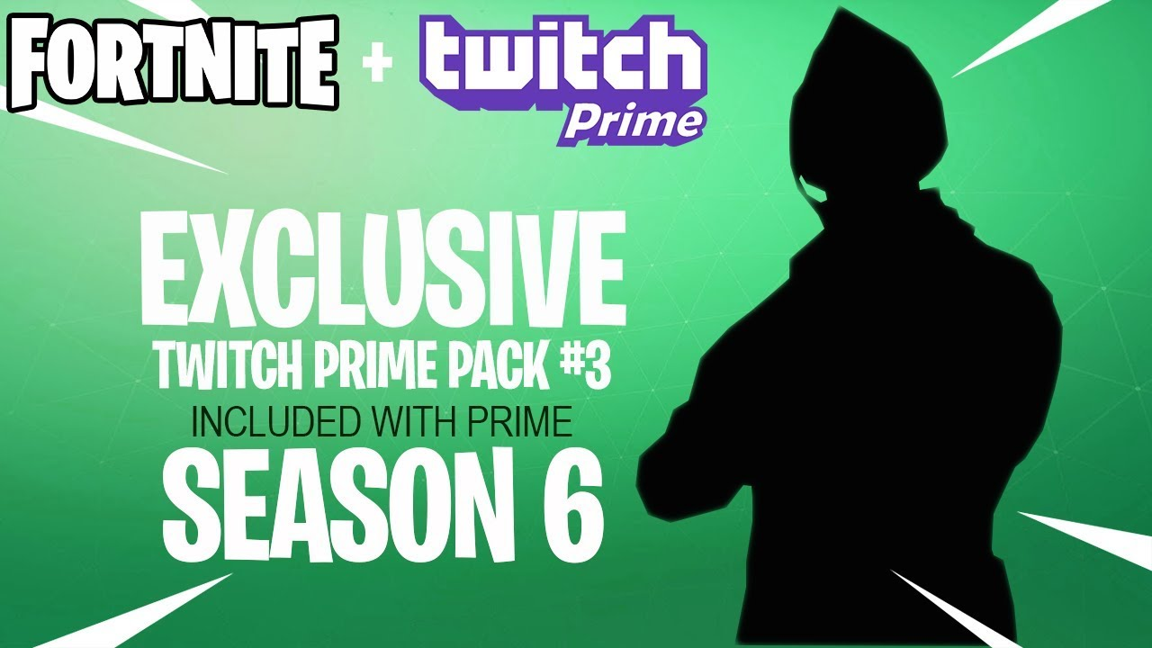 Fortnite Twitch Prime Pack #3 Releasing in Season 6