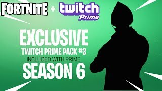Fortnite Twitch Prime Pack #3 Releasing in Season 6