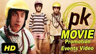vuclip PK 2014 Promotion Events Full Video | Aamir Khan, Anushka Sharma, Sushant Singh Rajput