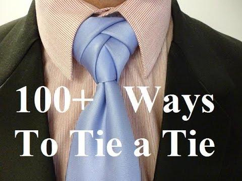 How To Tie A Necktie Novotny Knot - How To Tie A Tie - YouTube