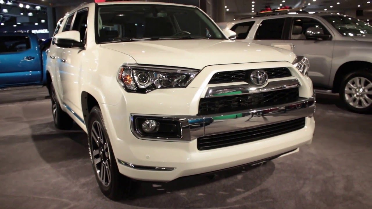 2016 toyota 4runner limited exterior walkaround price site toyota cars youtube. Black Bedroom Furniture Sets. Home Design Ideas
