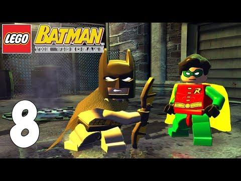 LEGO BATMAN! A REPARTIR BAT-COLLEJAS! Capitulo 8!