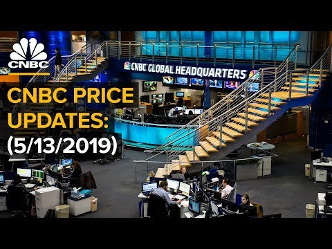 Stocks trade in real-time as US-China trade war escalates – 5/13/2019