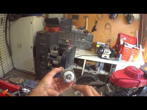 Honda Lawn Mower Carb Cleaning - Mower Won't Start - Mower Revving Up and Down