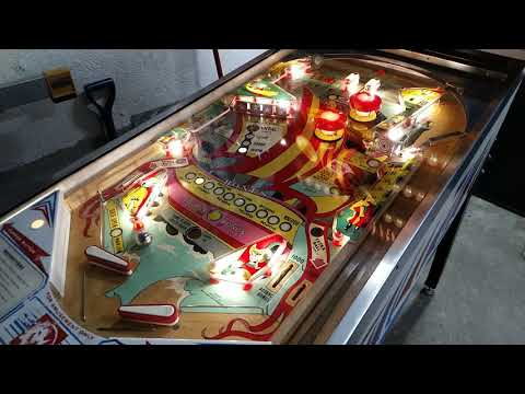 1977 Williams ARGOSY Pinball Machine