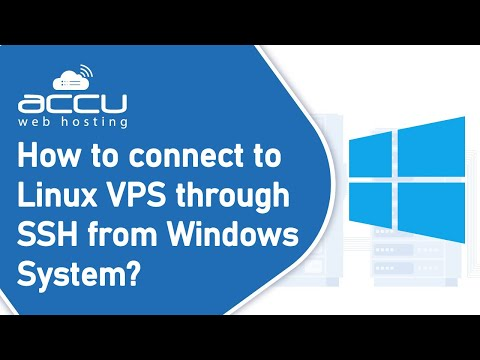How To Connect To Linux Vps Through SSH From Windows System?
