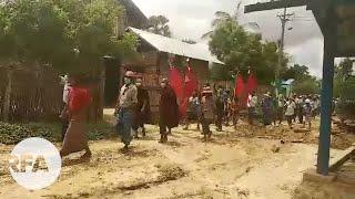 Download lagu ဘုတလင်မြို့နယ်က ကျေးရွာပေါင်းစုံသပိတ်စစ်ကြောင်း ဆန္ဒပြ
