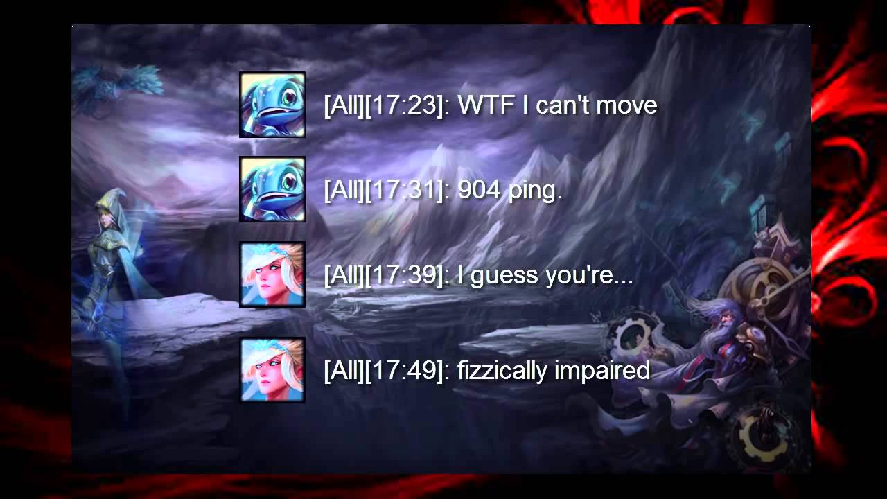 all chat league of legends youtube