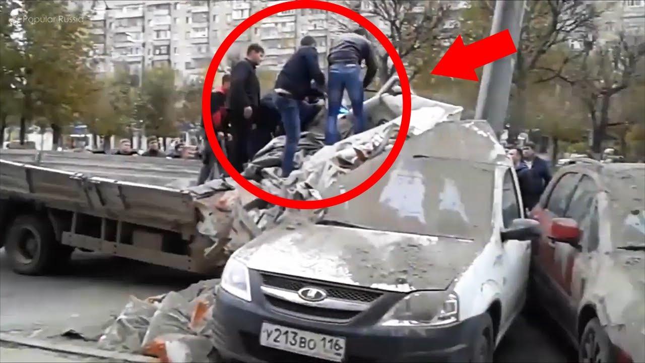 交通事故 | 車cam記錄交通事故合集 - 貨車司機被卡在裡頭! car crashes 2020 - YouTube