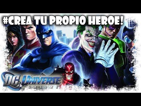 DC Universe Online Gameplay Español | Creacion De Personaje | MMOrpg Free to Play