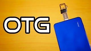 💡Honor Note 10 Tips🔨: OTG Test!   EMUI 8 📱[4K]