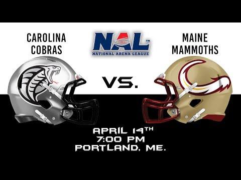Carolina Cobras vs. Maine Mammoths