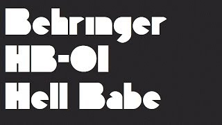 Behringer HB-01 Hell Babe wah pedal (test)