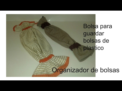 Bolsa para guardar bolsas de pl stico youtube for Guardar bolsas plastico