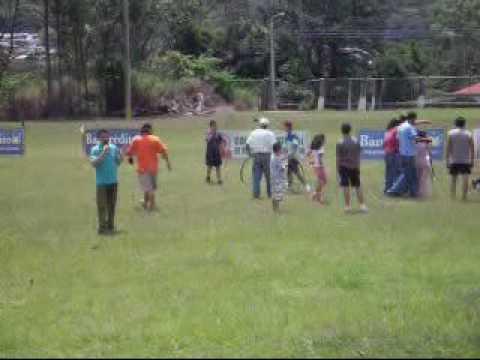 Juegos Tradicionales Tres Rios Costa Rica Parte1
