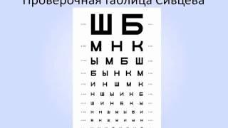 Таблицы для проверки зрения и для упражнений.mp4(Скачивай книгу
