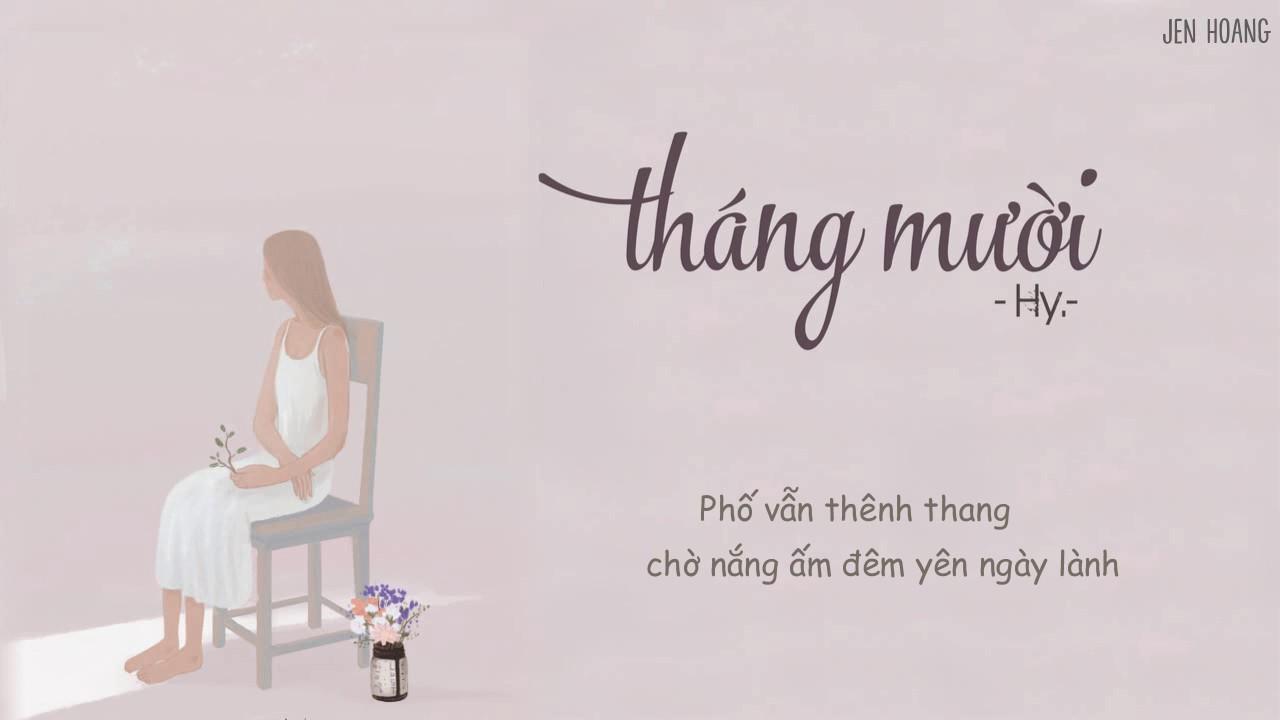 Download Lyrics || Tháng Mười - Hy.