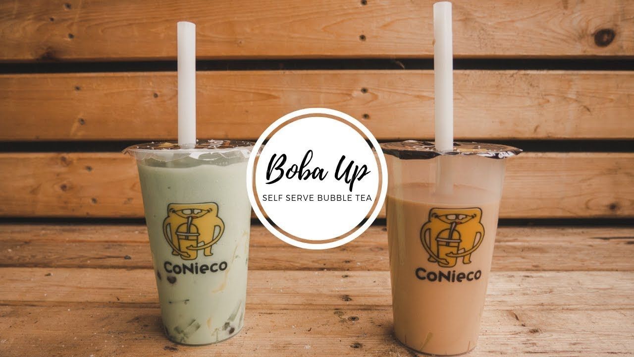 [FOOD REVIEW FRIDAY] BOBA UP - FIRST EVER SELF SERVE BUBBLE TEA IN SEATTLE