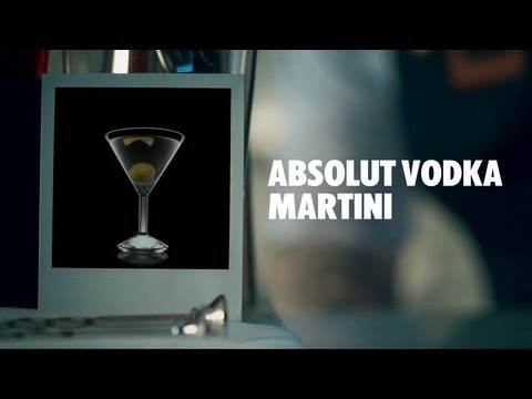 How to make an Absolut Vodka Martini Cocktail | Recipe