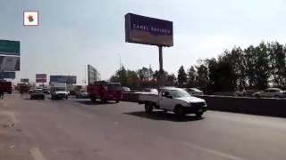 ''الحماية المدنية'': السيطرة على حريق خط البوتاجاز بالتجمع الخامس (فيديو)