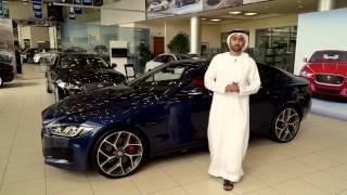 الطاير للسيارات تسلّم سيارة جاكوار XE الجديدة إلى أنس بوخش في الإمارات