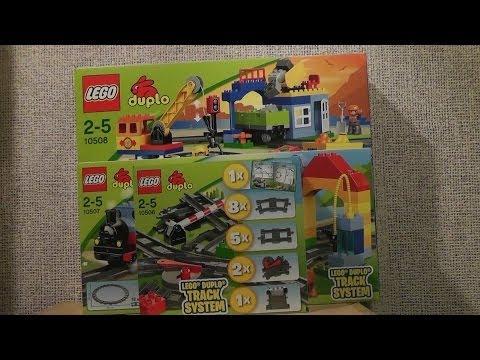 NOWOŚCI SIERPIEŃ 2013 LEGO DUPLO POCIĄGI