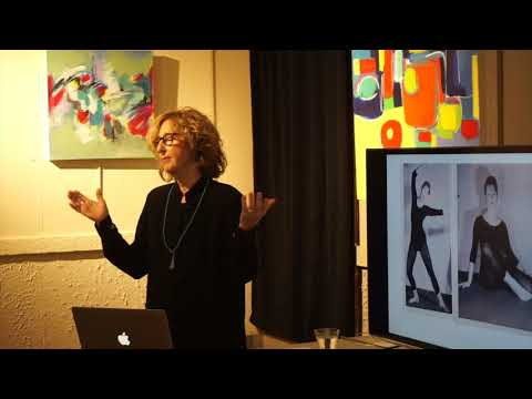 """Mary Ellis """"My Art Story"""" Talk at the Osssing Arts Council December 3rd 2017"""