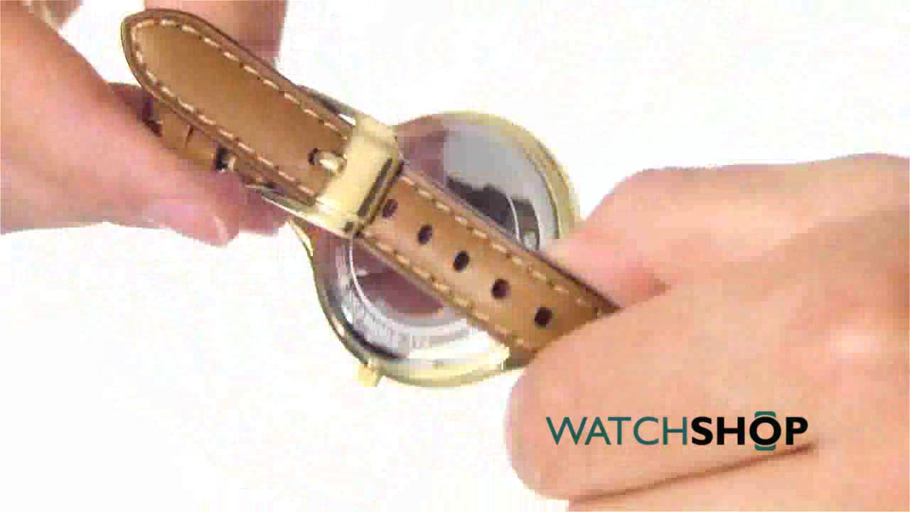 1e494d263eae Michael Kors Ladies  Mini Slim Runway Watch (MK2326) - YouTube